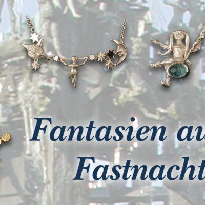 Fantasien aus dem Fastnachtsbrunnen - Aus hunderten von Figuren die schönsten in Schmuck verewigt