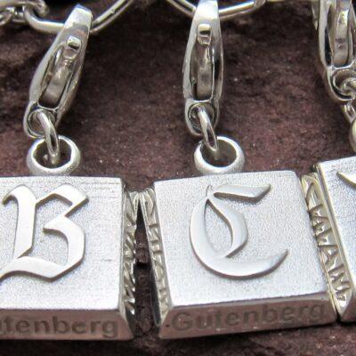 Gutenberg Buchstabenanhänger - lasst Euch überraschen...