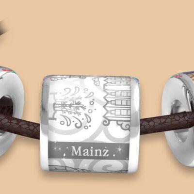 Die Mainzer Stadt-Anhänger - Die bunten Stadt-Anhänger passend zu den bunten Stadt-Ringen